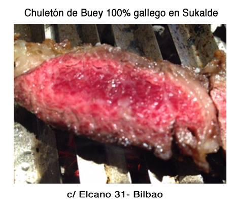 La chuleta a la braa de Sukalde