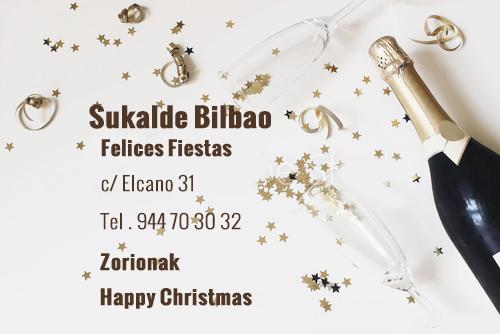 Restaurante Sukalde Bilbao Felicita las fiestas